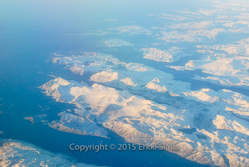 Ice and glaciers in Greenland. In case all the ice here melts, we will have big problems in our coastal areas. Photographer and copyright (c) 2015 Erkki Siirila.